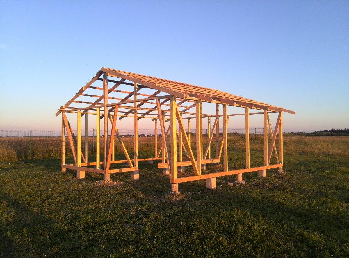 Построить зерно склад своими руками 17