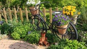 И старый велосипед пригодился