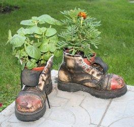 Нашлось применение ботинкам