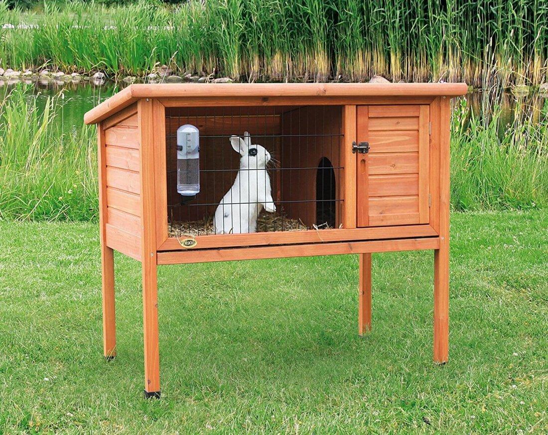 Домик для кролика на даче