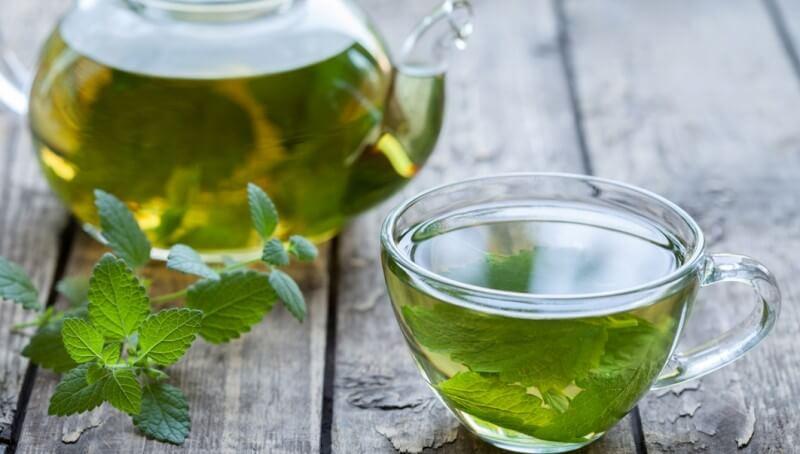 Чай с мелиссой от давления