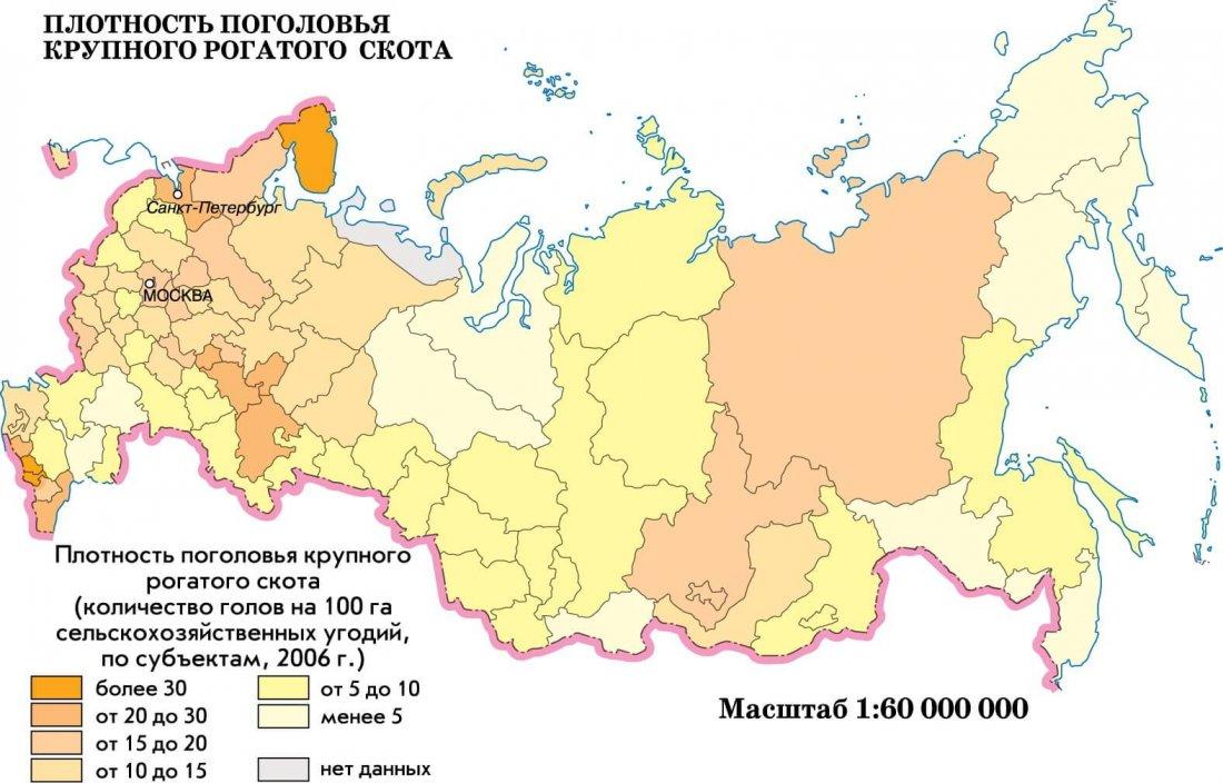 КРС в России