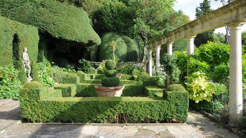 Итальянский стиль в саду