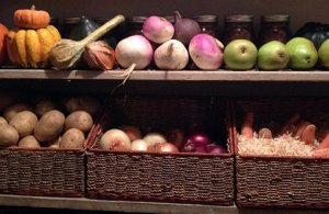 Овощи в погребе