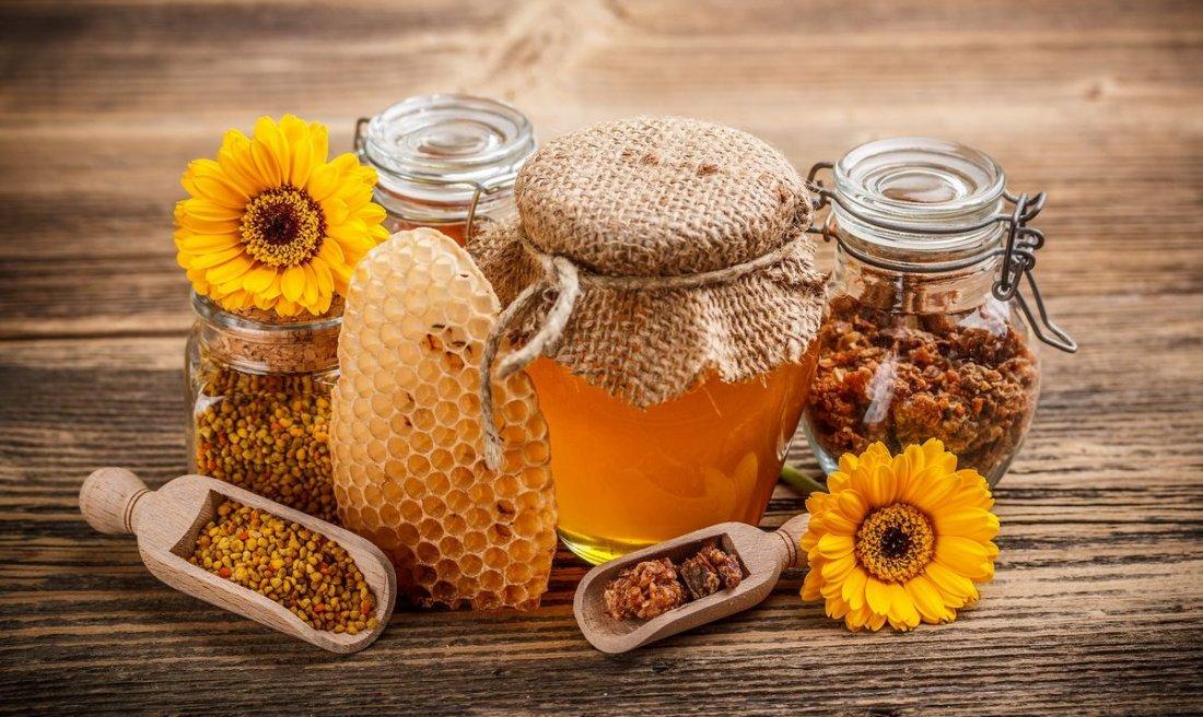 Продукьы пчеловодства