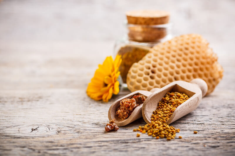 Лечение детей пчелиной пыльцой