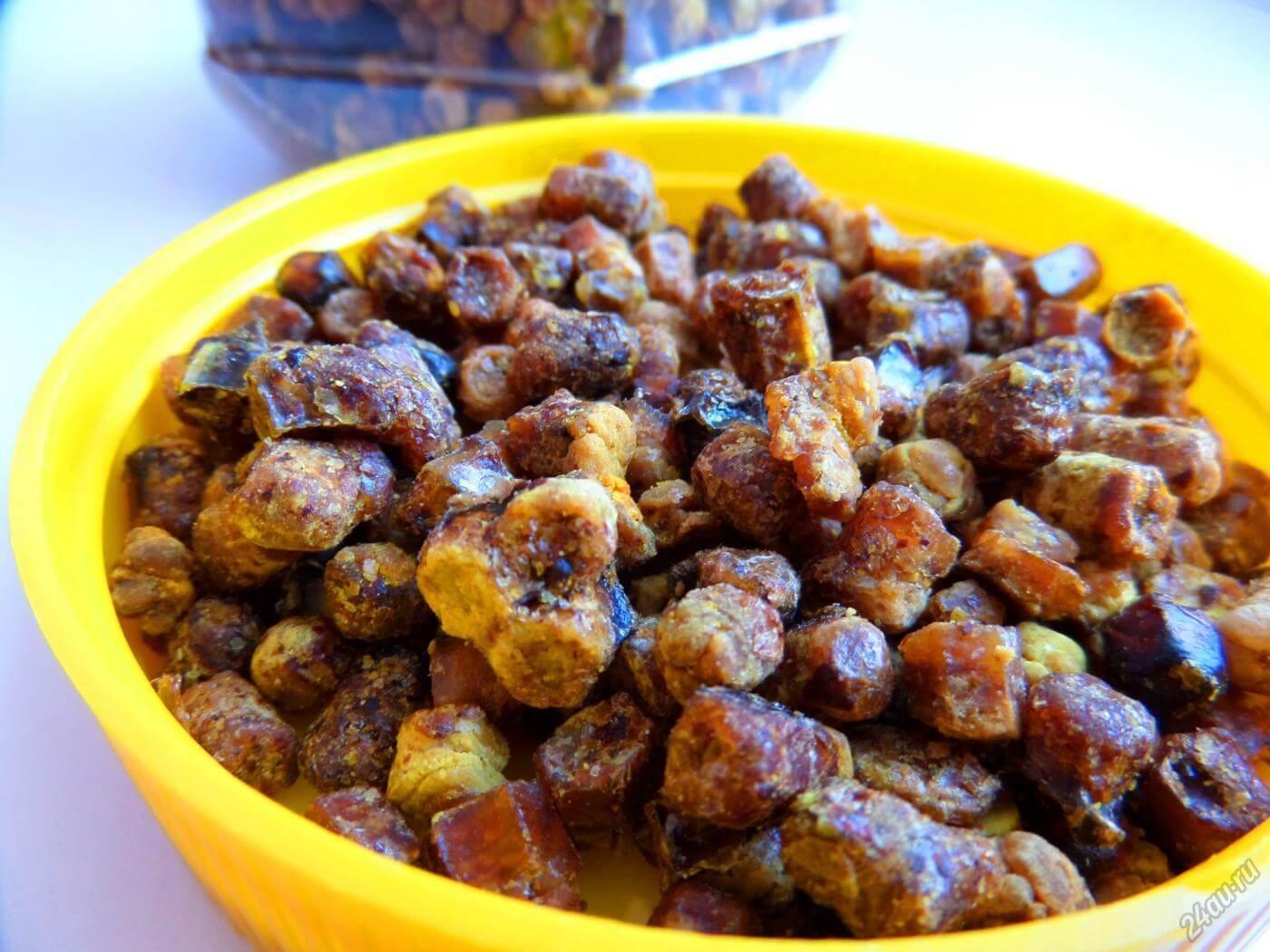 Перга пчелиная: полезные свойства и противопоказания, как применять