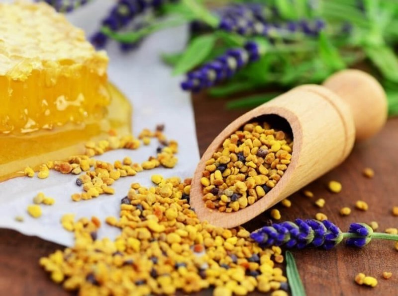Вкус пыльцы
