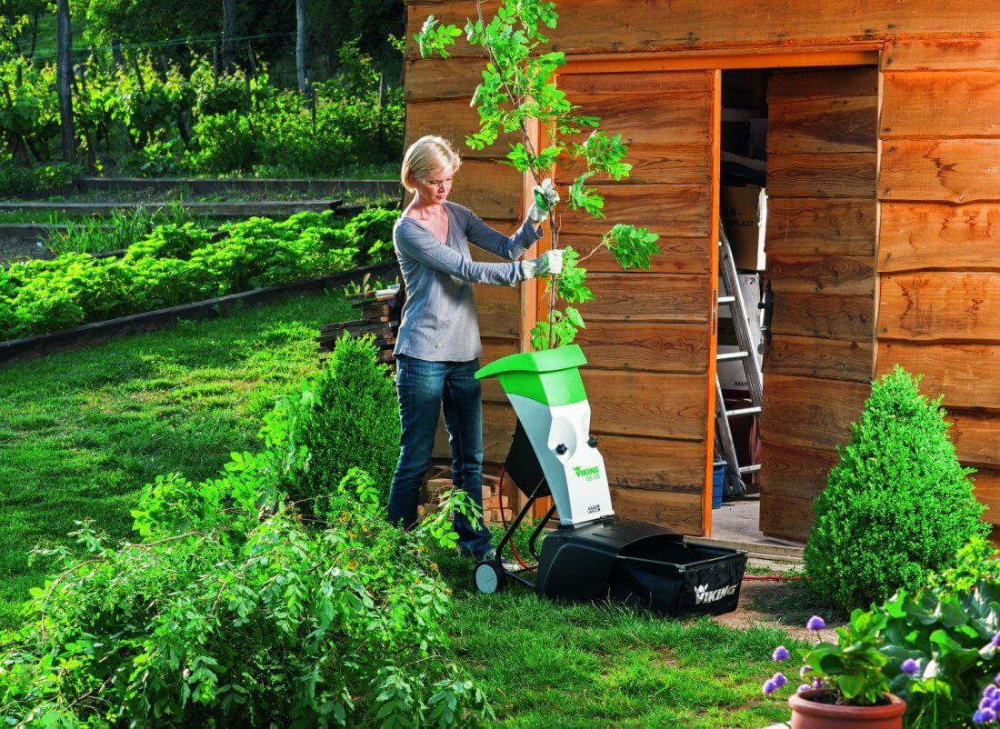 Измельчитель садовый универсальный