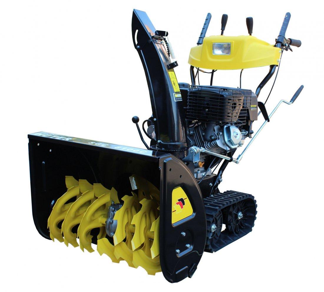 Машина для уборки снега Huter