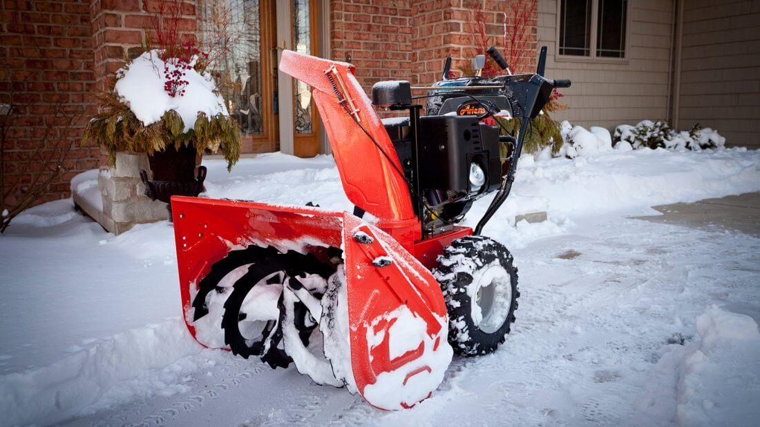 Снегоуборщик для дома