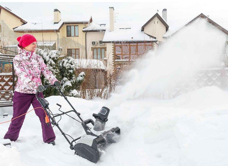 Снегоуборщик электрический Hyundai S