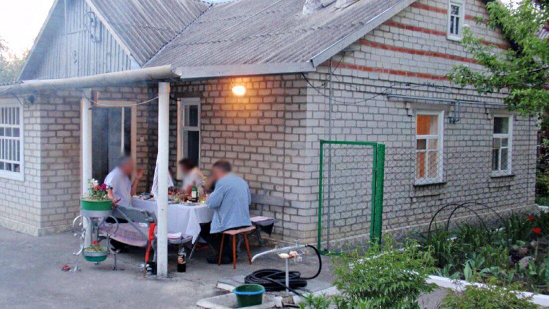 Благоустроенный дом в деревне