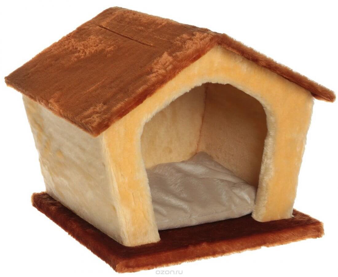 Мягкий домик для кошки